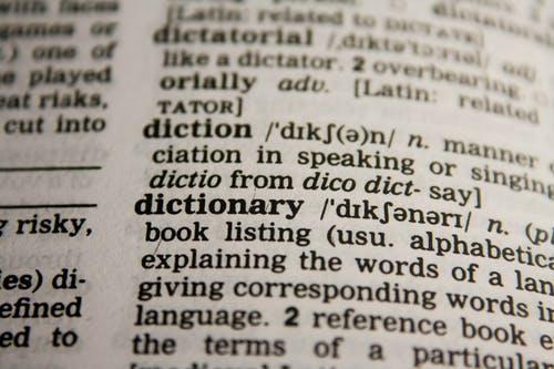 anglický slovník