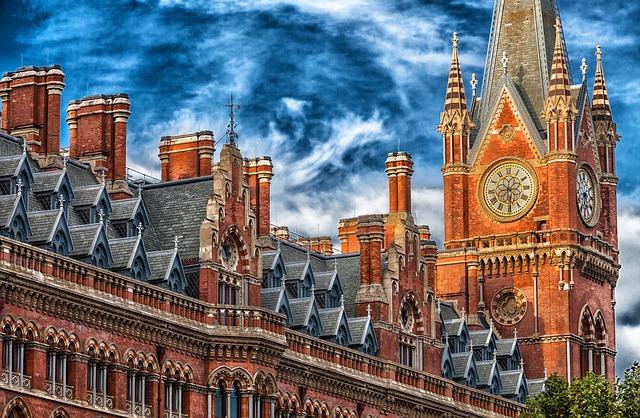 budova v Londýně