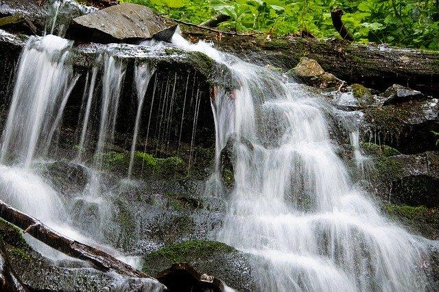 vodopád beskydy