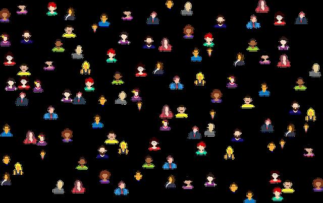 připojení lidí
