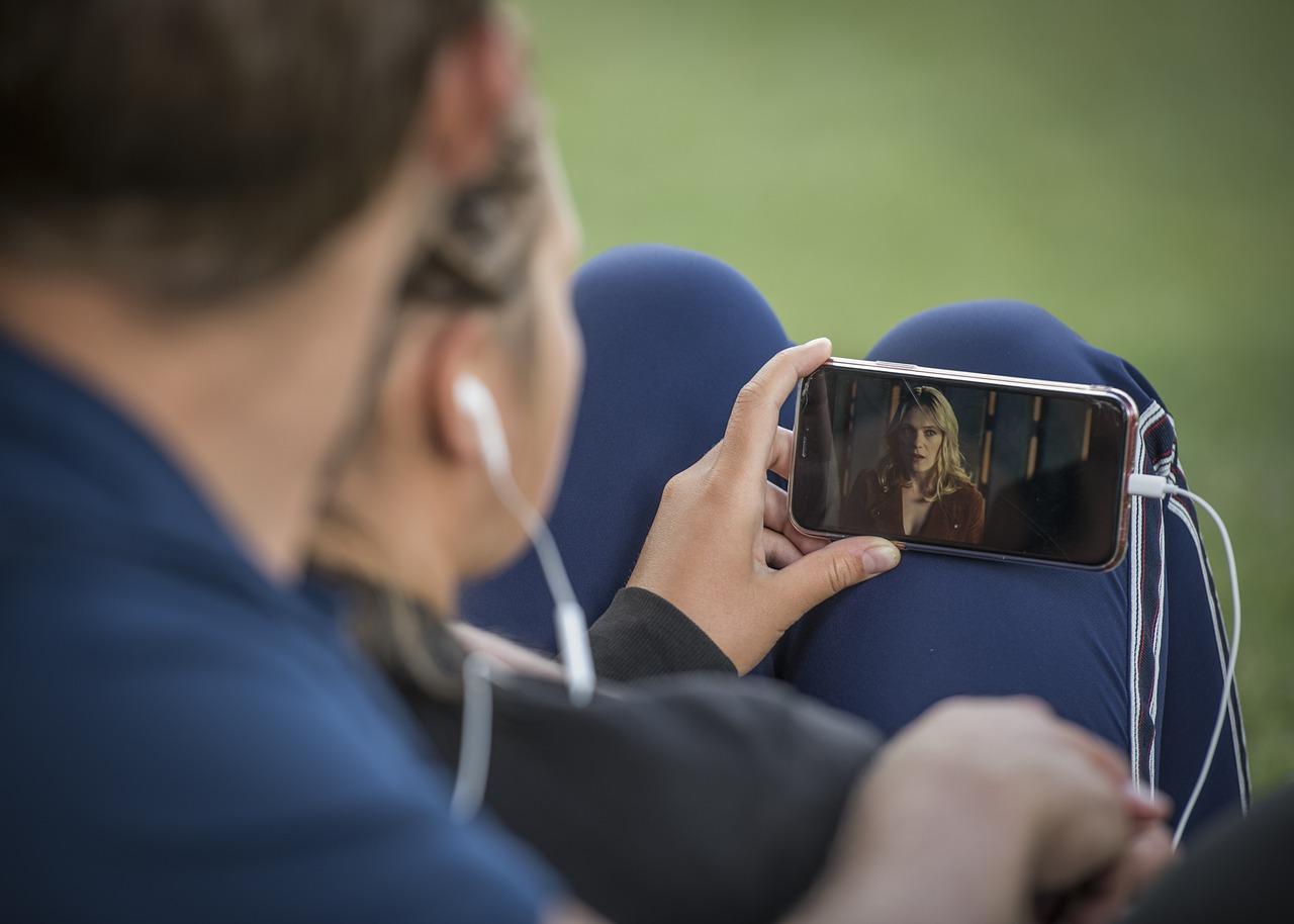 sledování videí